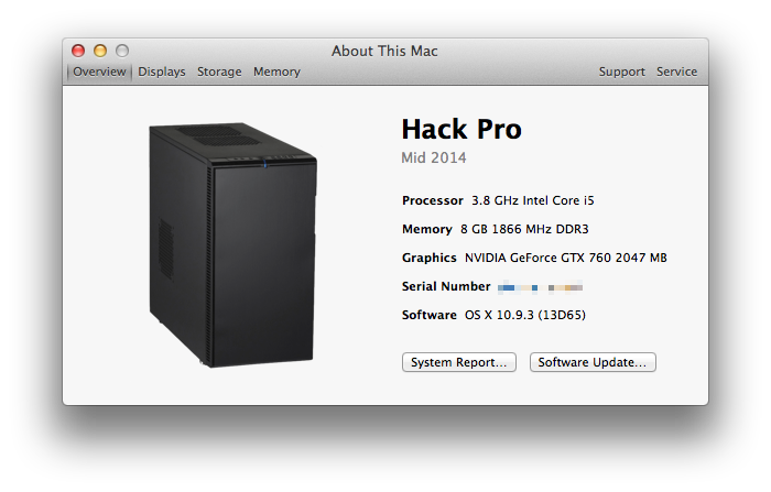 Building a Hackintosh – seewes