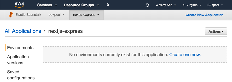 Deploying Next js with Express on Elastic Beanstalk – seewes